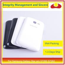 Do Samsung Galaxy Star pro S7260 S7262 obudowa baterii drzwi tylna tylna pokrywa obudowa Shell wymiana