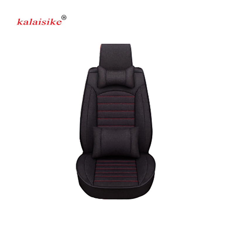 Kalaisike Flax Universal Car Seat covers for Volvo all models s60 s80 c30 s40 v40 v60 xc60 xc90 xc70 car styling car accessoriesKalaisike Flax Universal Car Seat covers for Volvo all models s60 s80 c30 s40 v40 v60 xc60 xc90 xc70 car styling car accessories