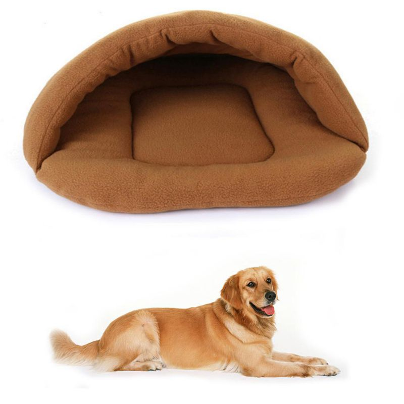 Pet Warm Sleeping Bags Sofa Polar Fleece Material Bed Pet Mat Cat House Cat Sleeping Bag Pets Cushion High Quality Products