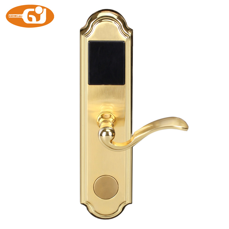 Wireless Rf Card Digital Hotel Door Lock In Locks From