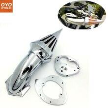 купить For 00-12 Kawasaki Vulcan 1500 1600 VN1500 VN1600 Spike Cone Motorcycle Air Cleaner Intake Filters Kit Accessories 2000-2012 по цене 1953.28 рублей