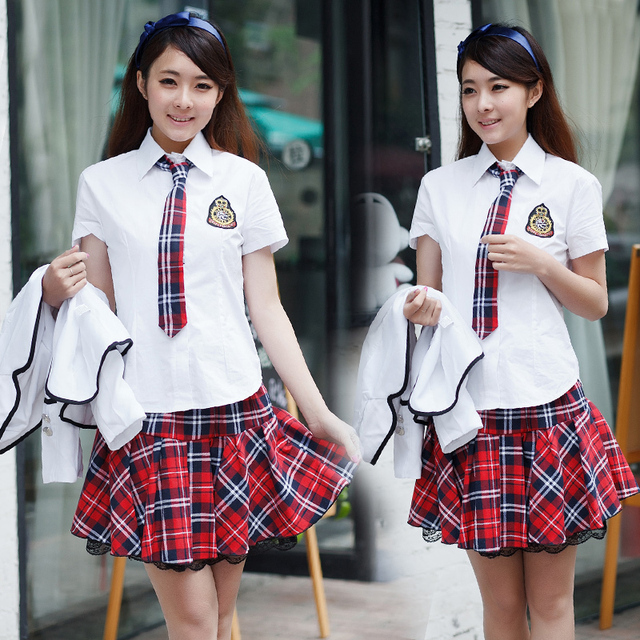 New Fashion Korean School Student JK Uniform 6 Colors ...