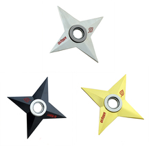 Naruto Cosplay Hokage Uzumaki Shuriken Rotatable dart Model toy