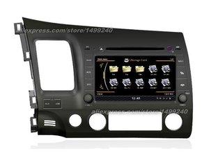 For Honda Civic 2006~2011 - Car GPS Navigation System + Radio TV DVD iPod BT 3G WIFI HD Screen Multimedia System