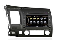 For Honda Civic 2006~2011 Car GPS Navigation System + Radio TV DVD iPod BT 3G WIFI HD Screen Multimedia System