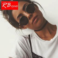 RBROVO 2019 Винтаж овальные классические солнцезащитные очки Для женщин/Для мужчин HD очки Street Beat Shopping зеркало Óculos De Sol Gafas UV400