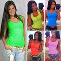 2016 Women Summer Vest Top Sleeveless Shirt Tops Casual Crop Tops T-Shirt Wholesale