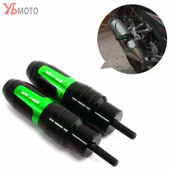 2019 New Design Motorcycle Aluminum Crash Pads Exhaust Sliders Crash Protector For Kawasaki ZZR1400 ZX14R ZZR 1400 ZX-14R NINJA - DISCOUNT ITEM  20% OFF All Category
