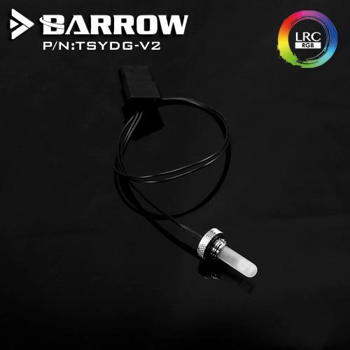 Barrow Water Tank  RGB LED 12v Light Component Sealing Lock Plug Quartz Compound Watercooling G1/4