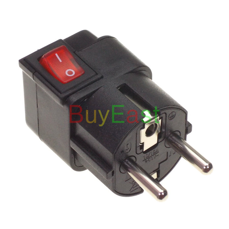Free shipping Israel Schuko Germany France Korea Type F Travel Adapter Power Plug Convert UK/US/AU/EU World Plug WONPRO Brand многофункциональный универсальный world travel au великобритания сша в ес ac power plug адаптер конвертер a57