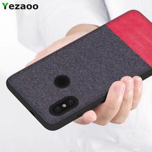 Xiaomi mi max 3 case For xiaomi mi max3 coque yezaoo fabric bag silicone phone back cover For xiomi mi max 3 Global version case