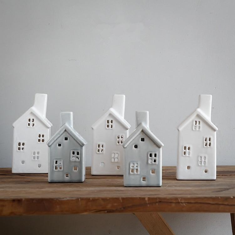 Aliexpress.com : Buy handmade vintage porcelain christmas house ...