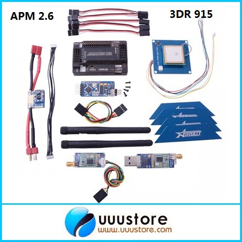 APM 2.6 ArduPilot Flight Controller + GPS + 3DR Radio Telemetry + Minimosd + Current Sensor minimosd on screen display osd board apm telemetry to apm 1 and apm 2