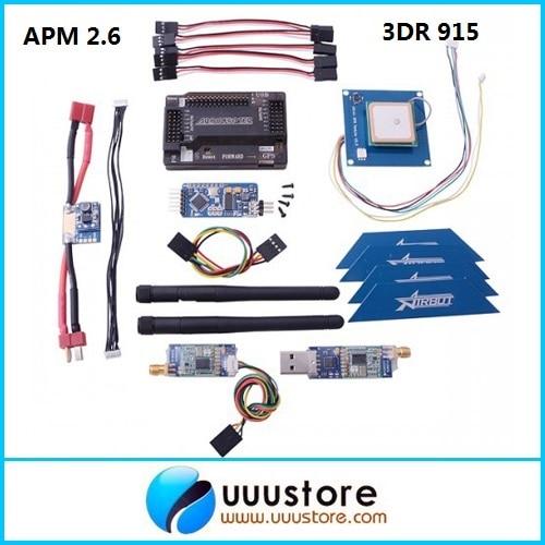 APM 2.6 ArduPilot Flight Controller + GPS + 3DR Radio Telemetry + Minimosd + Current Sensor apm 2 6 ardupilot flight controller gps 3dr radio telemetry minimosd current sensor