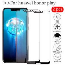 Película protetora de vidro para huawei honor play, tela de vidro temperado para huawei honor play pçs/lote 6.3 COR L29 protetor