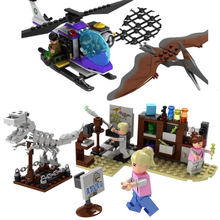 Jurassic Dinosaur world Park Figures Tyrannosaurs Rex Building Blocks Compatible With Sermoido Toys For Children