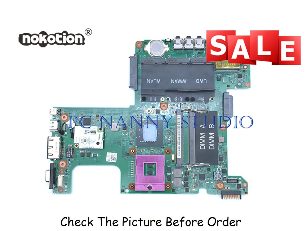 PANANNY FOR Dell inspiron 1525 CN 0PT113 0PT113 PT113 Main board  48.4W002.031 Laptop Motherboard GM965 DDR2 Tested|laptop motherboard|main board|ddr2 motherboard - title=