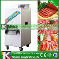 OEM/ODM supply type 460r/min cutting speed stainless iron fresh pork meat processing slicing machinery price for sale