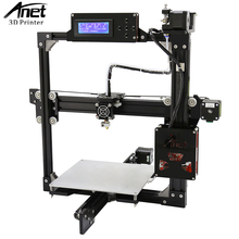ANET A2 3D Printer Full Metal Frame Easy Assembly High Precision 3D Printer LCD Screen HotBed SD Card More Stable than Prusa i3