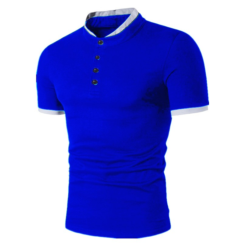ZOGAA New 2019 Summer Short Sleeve Cool Cotton Slim Fit Men   Polo   Shirts High Quality Casual Cotton Plus Size Business Tops