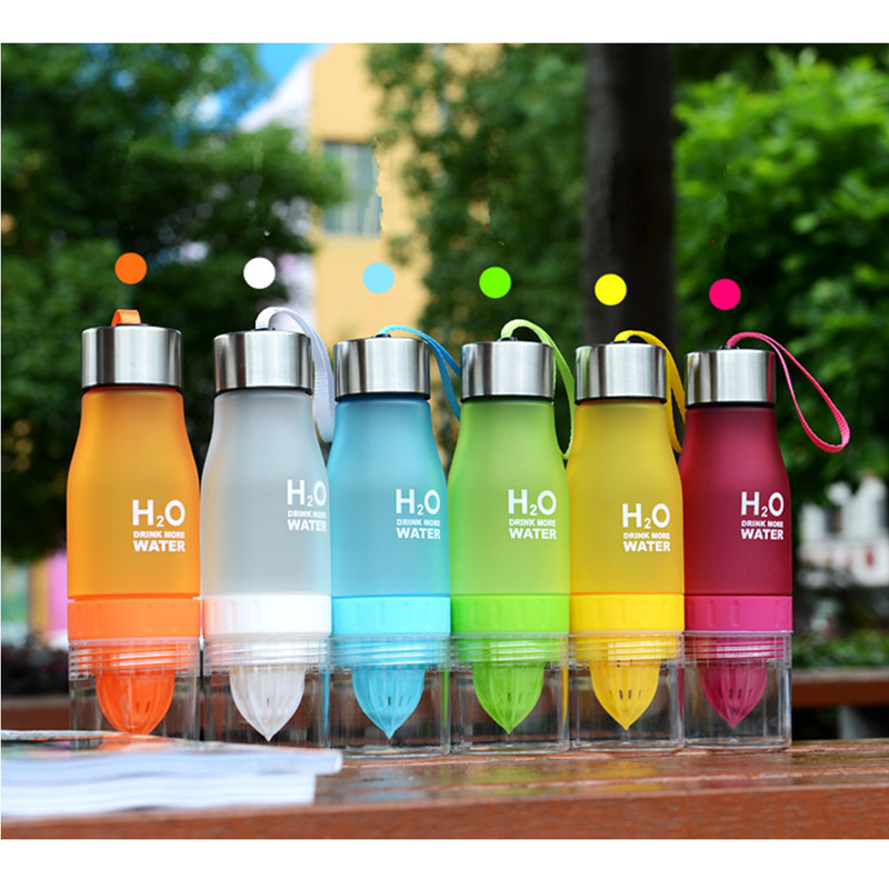 Different Juicy Water Plus Colors