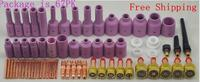 TIG Consumables Kit Gas Lens Fit SR WP17 18 26Tig Torch Welding Alumina Nozzle & Collet Body tosense