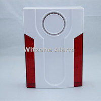 433MHz Outdoor Flash Siren MD 334R External Sirene Flash Horn With Builit In Battery For ST