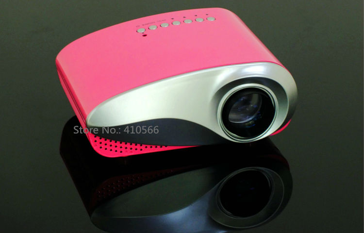 mini projector red pic 6