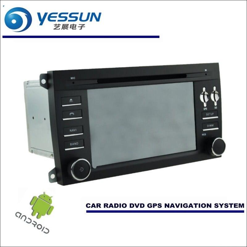 Yessun автомобиля Android навигации Системы для Porsche Cayenne 955/957 Радио стерео CD dvd плеер GPS Navi BT HD Экран мультимедиа
