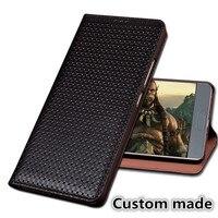 LJ02 Genuine Leather Magnet Flip Case For LG Stylo 4 Phone Case For LG Stylo 4 Flip Cover Free Shipping
