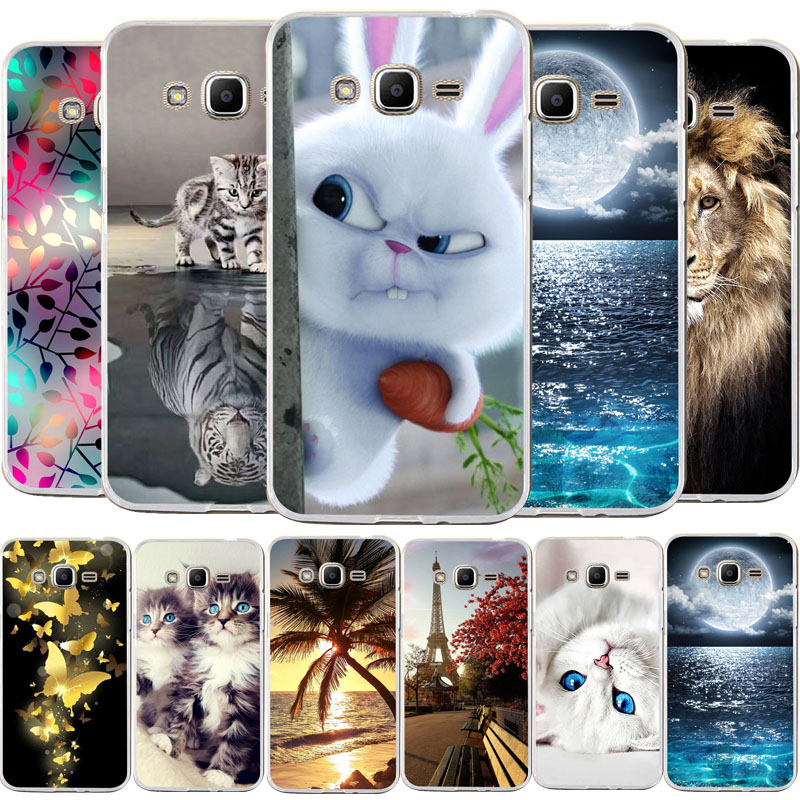 For Coque <font><b>Samsung</b></font> <font><b>Galaxy</b></font> <font><b>Grand</b></font> <font><b>Prime</b></font> G530 <font><b>G530H</b></font> G531 G531H G531F SM-G531F <font><b>Case</b></font> PC Cover Cute Animal Painted Phone <font><b>Cases</b></font> image
