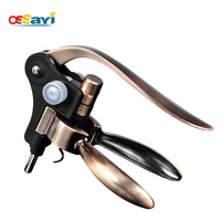 Wine Bottle Opener Corkscrew Copper Color Rabbit Corkscrew Wine Opener Wedding Favors Gift Bottle Openers Tools