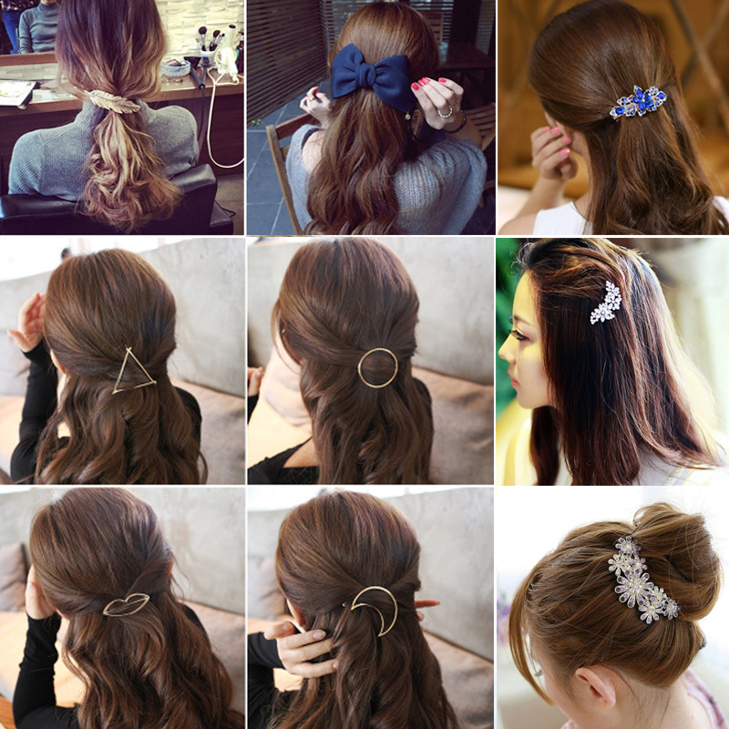 Hair Barrette Hairpins Hair Clips Accessories for Women Girls Hairgrip Hair Clamp Hairclip Ornaments   Headwear   Different Style
