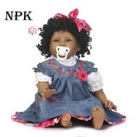 55 CM Reborn Babies Dolls Full Vinyl Realistic boneca baby Toys For Girls Alive Baby Doll For Playmate Gift 22 Inch