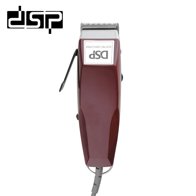 DSP HC-666 Professional Hair Clipper CE Certificated Hair Trimmer Electric Shaver Beard Clippers Haircut Machine Barber Tools 50pcs variety curvature convenient disposable eyelash brushes knife trimmer clipper tools safety shaver clips professional2