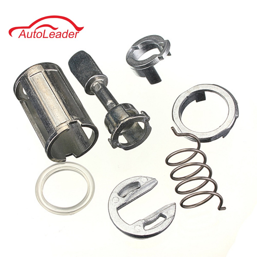 7 Pcs/Set Front Left & Right Door Lock Cylinder Repair Kit For VW /Mk4 /Golf 4 /Bora 1U0837167EC W904-ST-7T