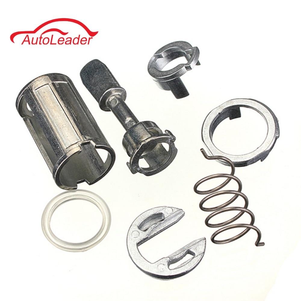 7 pièces/ensemble Kit de réparation de cylindre de serrure de porte avant gauche et droite pour VW/Mk4/Golf 4/Bora 1U0837167EC W904-ST-7T