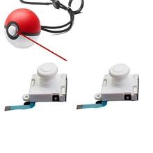 2pcs 3D Analog Joystick Thumb Stick For Nintend Switch NS Poke Ball Plus Pokeball Controller Sensor Module Potentiometer Repair g7f at2a analog potentiometer 4 spot extension module brand new