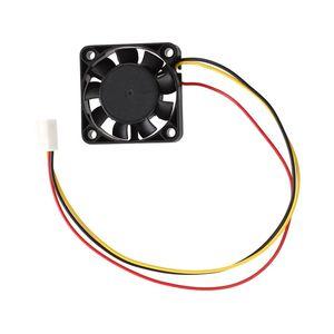 Image 4 - 2 Pcs 3ขา40มม.พัดลมระบายความร้อนคอมพิวเตอร์DC 12Vสีดำ