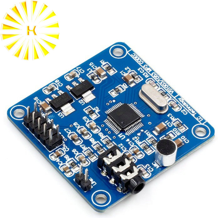 VS1003B VS1053 MP3 Module Development Board Onboard recording function image