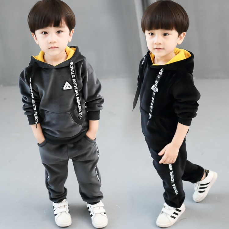baby new fashion winter patchwork sets boys thickness pleuche autumn hooded set child clothing children clothes spring sets children s clothing 2017 spring camouflage set teenage boys clothes child spring