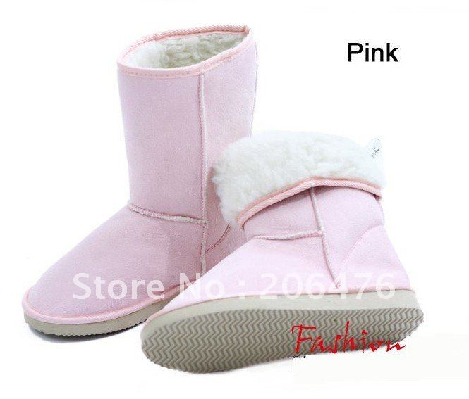 New-arrival-fashion-winter-warm-flat-heels-solid-snow-boots-pink-gray-black-brown-beige-wholesale.jpg