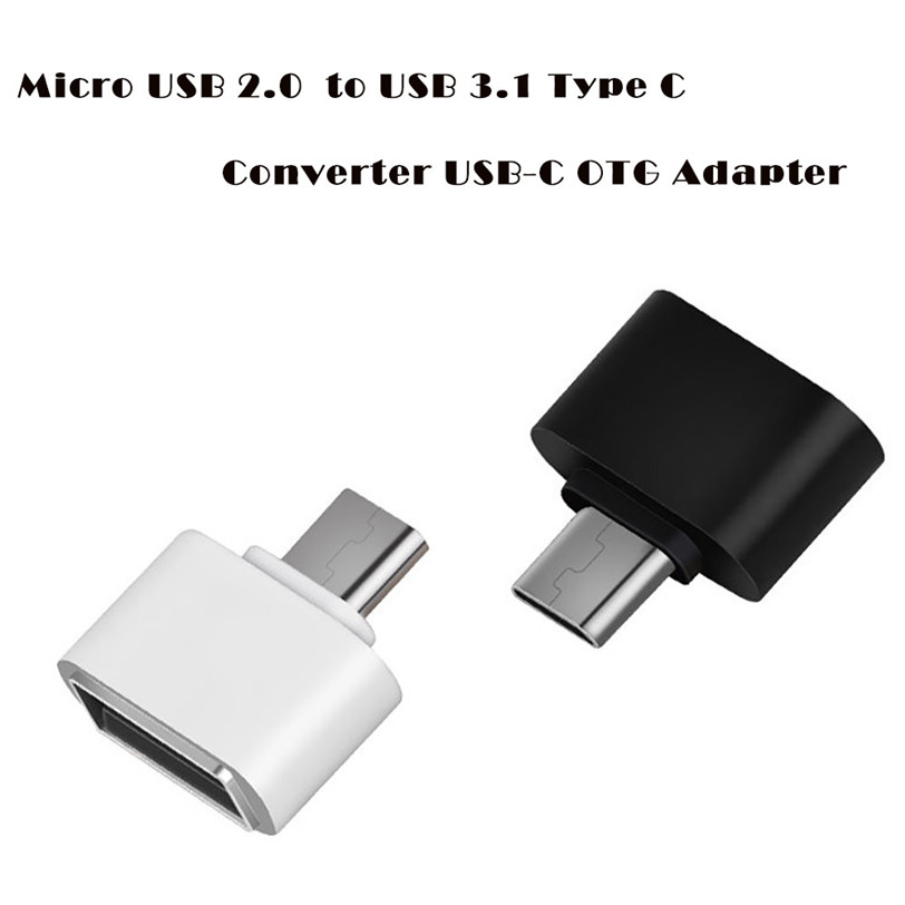 Micro USB 2.0 Female to USB 3.1 Type C Male Converter USB-C OTG Adapter Aug16 Professional Factory Price Drop Shipping best price portable usb 2 0 type a male to usb type b female plug extend printer adapter converter new arrival for