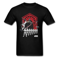 Fashion Black Red T Shirt Plus Size Men S Star Wars Warrior Team T Shirt Jedi