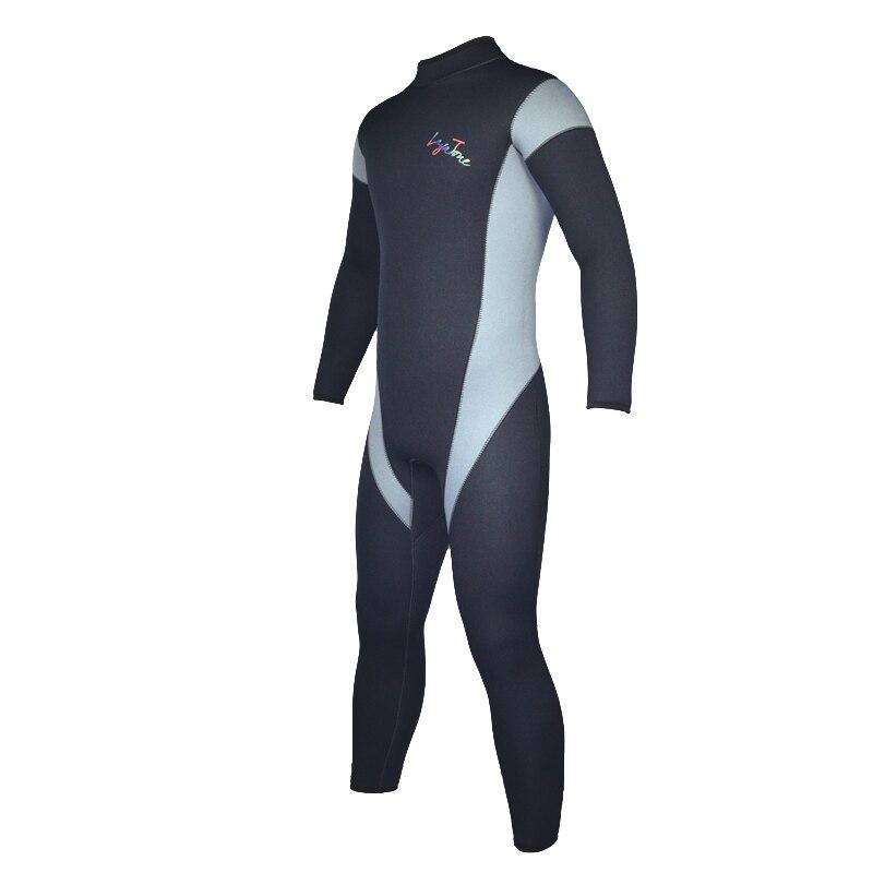 Лучшее качество Layatone A1615 5мм неопрена гидрокостюм мужчины катание на водных лыжах плавание Подводное плавание костюм