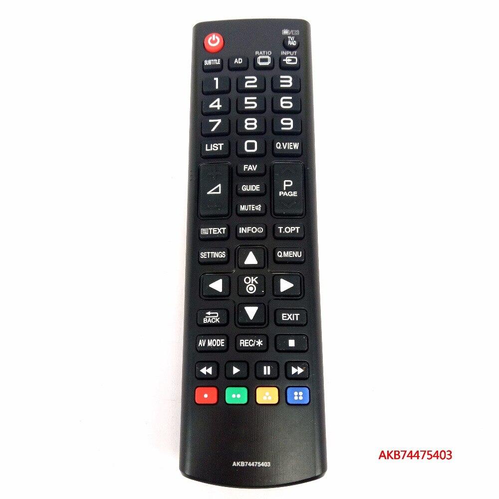 NEW Original AKB74475403 AKB74915351 For LG TV Remote Control