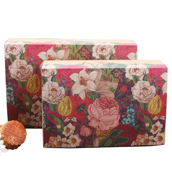 10pcs/lot Lovely Flowers Paper Bag Kraft paper Decoration Multifunction For Moon Cake Candy Gift Box
