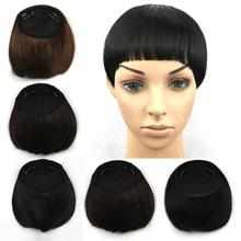 4 colors, straight bangs, synthetic hair bangs, clip in hair extensions, free shipping