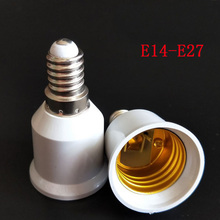 Heat Resistant E14 to E27 Lamp Holder Converter Socket Light Bulb Lamp Holder Adapter Plug Extender Led Light Use Led Light Base все цены