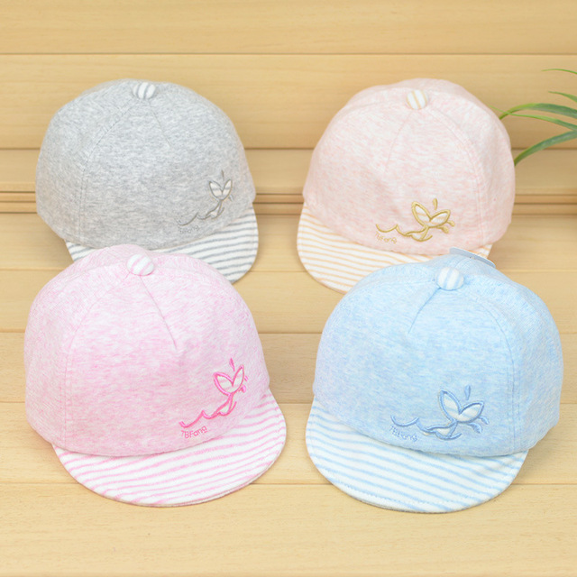 2017 New Baby Hats Cute Cartoon Embroidery Knitted Cotton Autumn Warm  Toddler Kids Winter Elastic Cap Baby Boy Girl Hats 994bfe16cc00